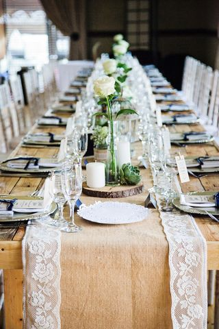 banquet style wedding decor and flowers 020