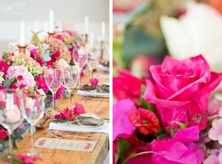 banquet style wedding decor and flowers 026