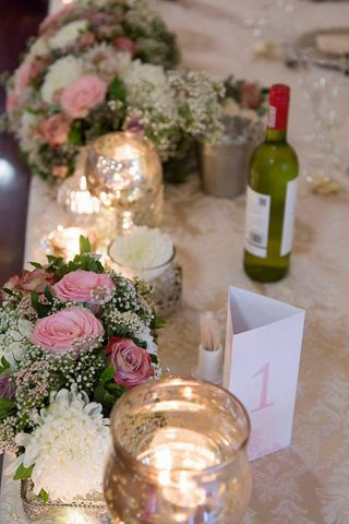 wedding flower tables floral creations 18