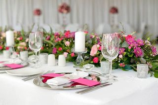 wedding flower tables floral creations 20