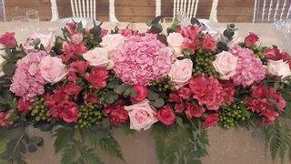 wedding flower tables floral creations 24