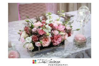 wedding flower tables floral creations 4