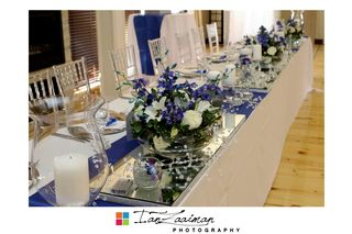 wedding flower tables floral creations 6