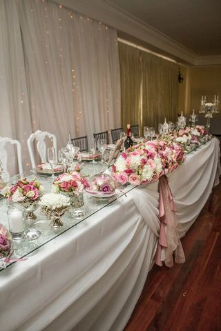wedding flower tables floral creations 8