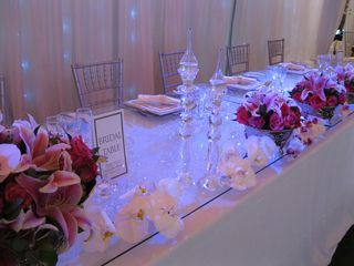 wedding flower tables floral creations port elizabeth 1