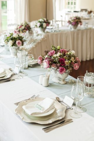 wedding tables flower floral creations 16