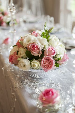 wedding tables flower floral creations 21