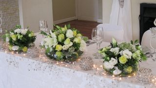 wedding tables flower floral creations 39