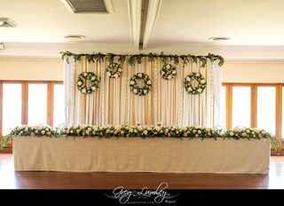 wedding tables flower floral creations 6