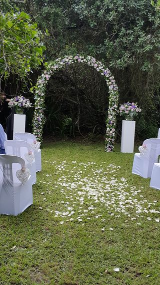 wedding arches floral creations port elizabeth 2