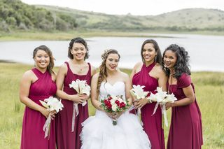 bridesmaids weeding flowers bouquets floral creations 1