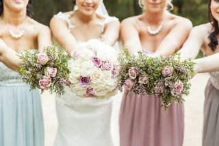 bridesmaids weeding flowers bouquets floral creations 10