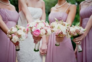 bridesmaids weeding flowers bouquets floral creations 17