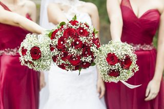 bridesmaids weeding flowers bouquets floral creations 8