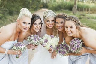 bridesmaids weeding flowers bouquets floral creations 9